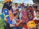Perusahaan Tambang Batubara Bantu Korban Banjir