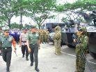 Jelang Kedatangan Istri Wapres, Korem 091/ASN Gelar Apel Pasukan