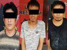 Tiga Orang Ditangkap Anggota Polsek Samarinda Seberang Dini Hari