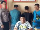 Terduga Bandar dan Pengedar Sabu Diamankan Polsek Kongbeng