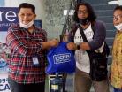 iCare Balikpapan Bagikan Sembako Wartawan