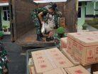 Korem 091/ASN Melalui Kodim 0904/Tng Kirim Bantuan ke Kalsel